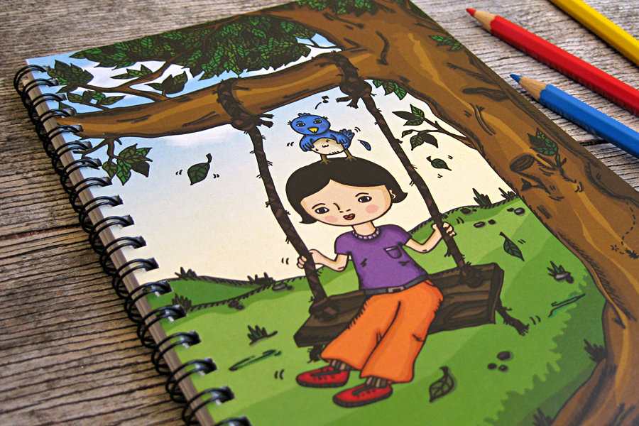 Little_Mo_and_Friends_perth_stationery_notebook_twigs