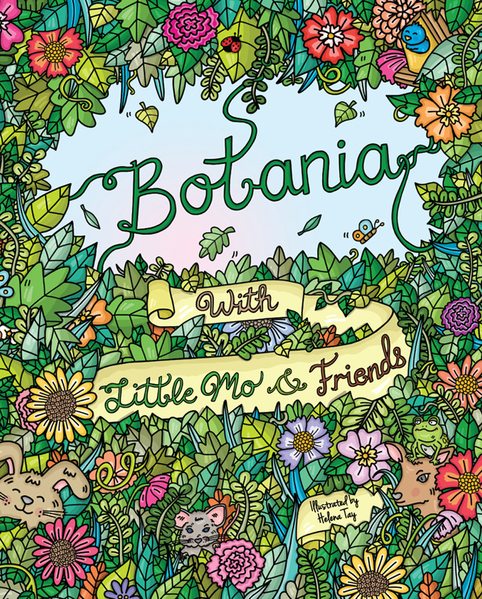 Perth_Illustrator_Colouring_Book_Botania