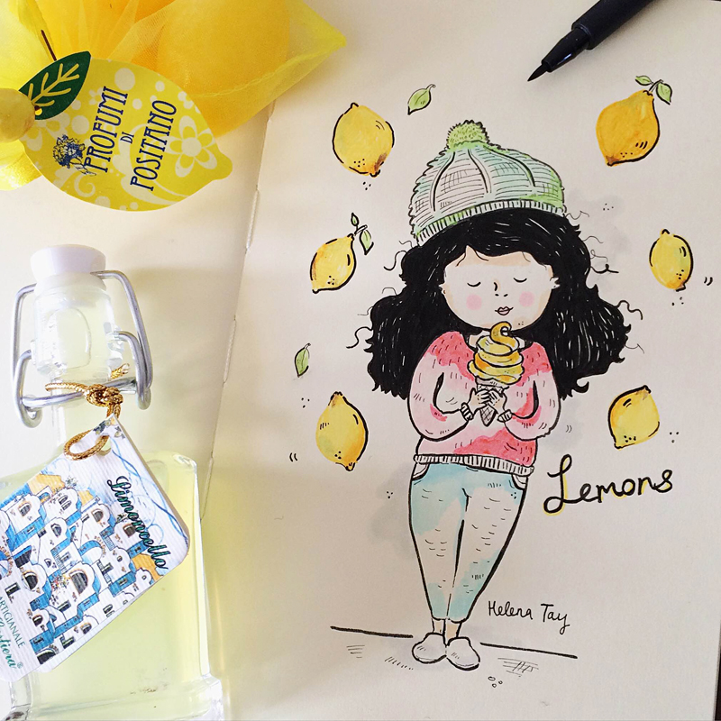 Perth_Illustrator_Moleskine_Art_Lemon