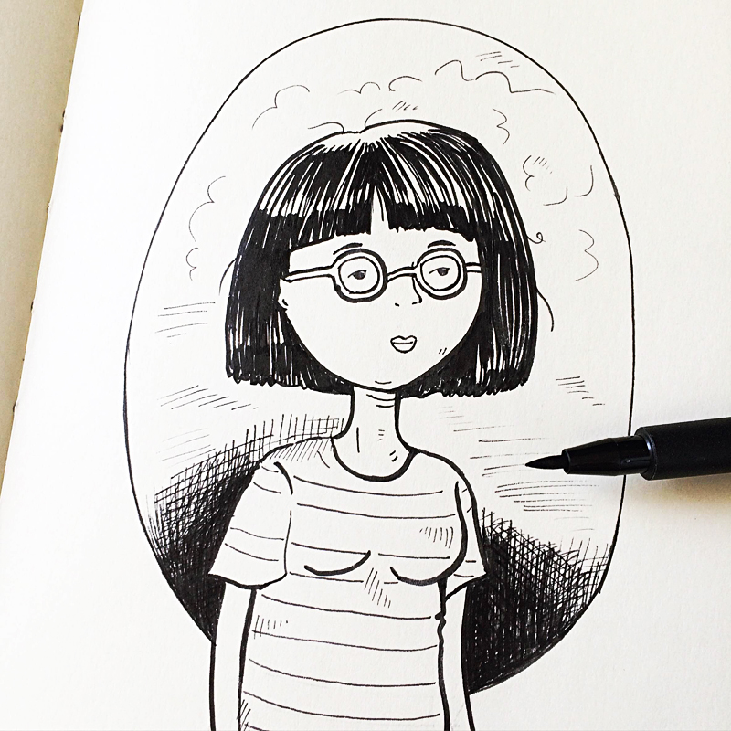 Perth_art_Illustrator_helena_tay_inktober_1