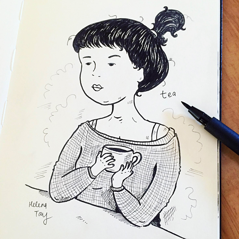 Perth_art_Illustrator_helena_tay_inktober_2