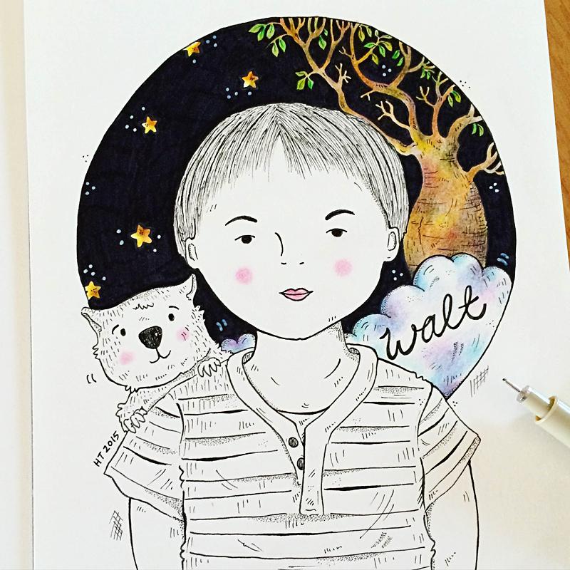 Perth_illustrator_Helena_Tay_portraits_1