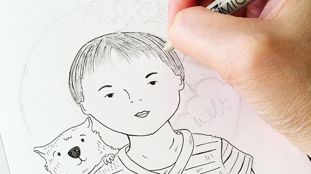 Perth_illustrator_Helena_Tay_portraits_6