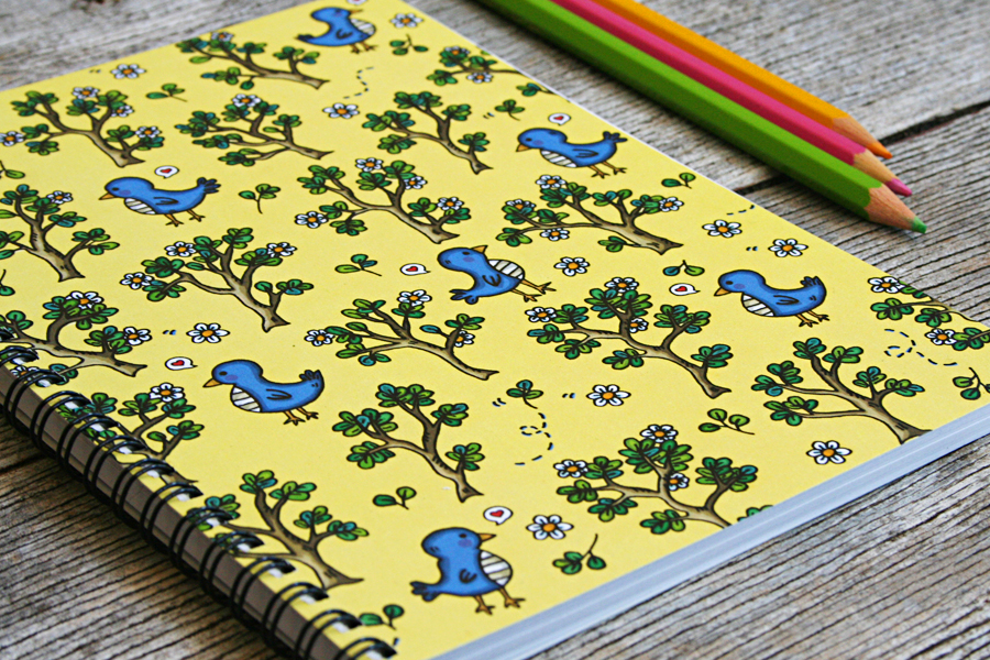 Little_Mo_and_Friends_perth_stationery_notebook_birdy