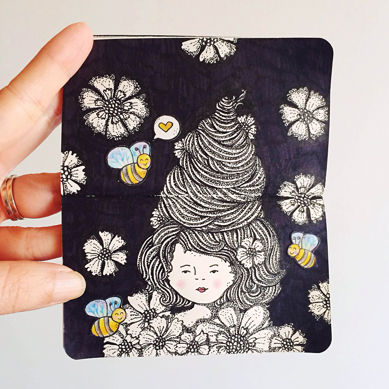 Perth_Illustrator_Moleskine_Art_Beehive