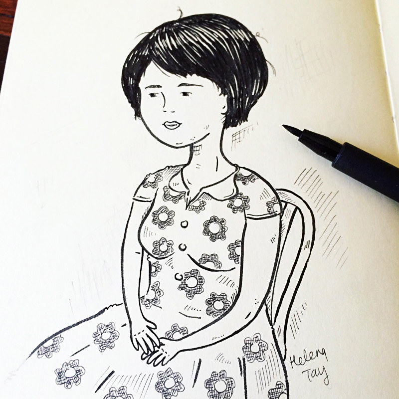 Perth_art_Illustrator_helena_tay_inktober_3